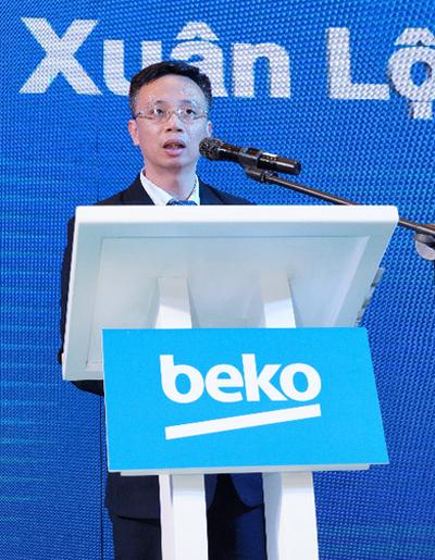 Ông Hồ Xuân Lộc - Tổng giám đốc Vietbeko chia sẻ tại buổi ra mắt thương hiệu.
