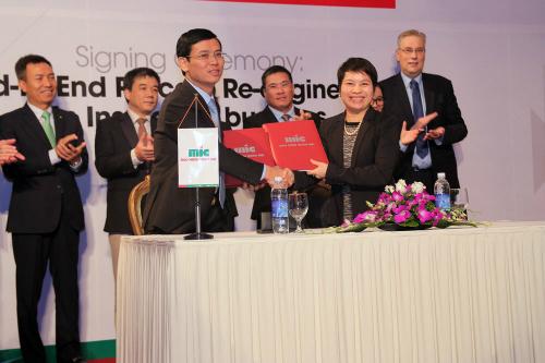Ký kết hợp tác giữa MIC & Deloitte Việt Nam dự án tái cấu trúc quy trình hoạt động kinh doanh bảo hiểm