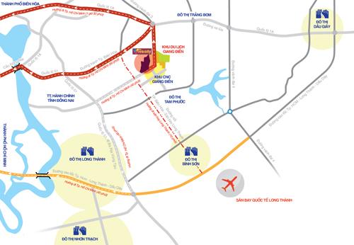 The Viva City kết nối thuận lợi, xuyên suốt với các khu vực kinh tế trọng điểm lân cận thông qua các tuyến đường vành đai huyết mạch.