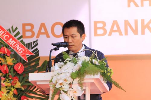 Ông Đặng Trung Dũng  P.Tổng Giám Đốc thường trực Ngân hàng Bắc Á