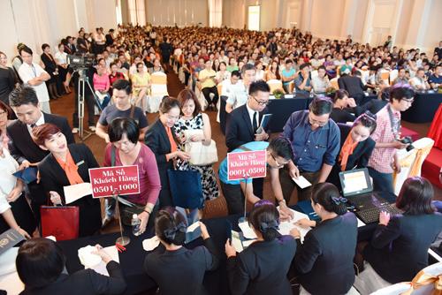 Saigon South Residences là dự án hiếm hoi tại TP.HCM có khả năng thu hút hàng ngàn người đến tham dự sự kiện công bố.