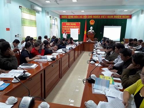 Tập huấn tại Lâm Đồng.