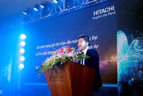 Ông Ogiwara - Tổng giám đốc Công ty Hitachi Điện tử gia dụng Việt Nam.