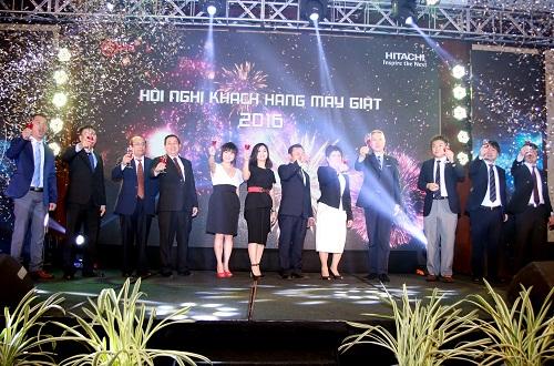 Hội nghị khách hàng máy giặt Hitachi 2016 tại Đà Nẵng diễn ra thành công tốt đẹp.