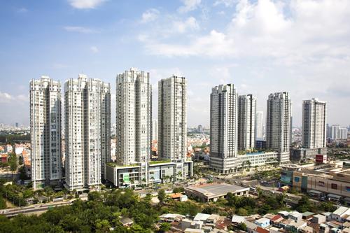 Khu phức hợp Căn hộ - Văn phòng  Dịch vụ Sunrise City (Q.7) bao gồm 12 tòa tháp đã tạo thành một quần thể kiến trúc hiện đại tại cửa ngõ phía Nam Sài Gòn