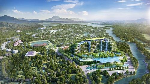 Tòa nhà 50.000 cây xanh Forest In The Sky