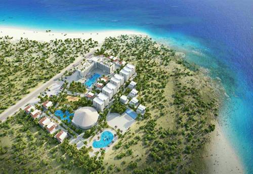 Phối cảnh tổng thể Condotel Biển đá vàng Resort