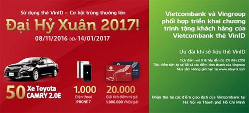 Để biết thông tin chi tiết, vui lòng liên hệ tổng đài chăm sóc khách hàng của Vingroup 1900 6959 hoặc tổng đài 24/7 của Vietcombank 1900 54 54 13.