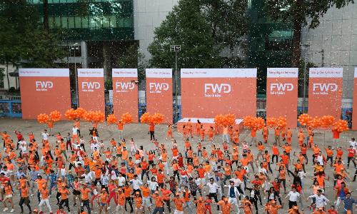 Bảo hiểm FWD tạo hiệu ứng marketing khi vào Việt Nam
