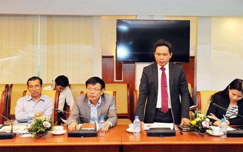 Ông Nguyễn Mạnh Hùng - Ủy viên  HĐQT, Giám đốc dự án phát biểu kết luận Hội thảo
