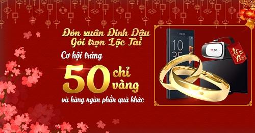 Mua điện thoại của Samsung, Oppo hay Sony tại TechOne, mọi người có cơ hội nhận thưởng lên tới 50 chỉ vàng.