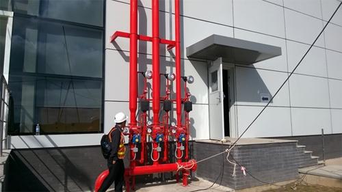 Nhà máy nhiệt điện Phú Mỹ là một trong những công trình do công ty cung cấp thiết bị an ninh, phòng cháy chữa cháy.