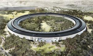 Trụ sở 5 tỷ đôla của Apple lấy cảm hứng từ iPhone