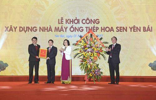 hoa-sen-khoi-cong-nha-may-ong-thep-hon-1000-ty-dong-tai-yen-bai