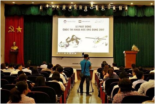Lễ phát động cuộc thi khoa học ứng dụng 2017.