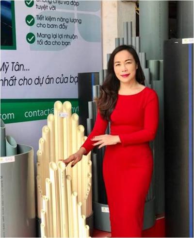 Bà Nguyễn Thị Thanh  Tổng giám đốc Công ty Mai Thanh