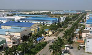 Khu công nghiệp và thành phố khoa học tại Long An