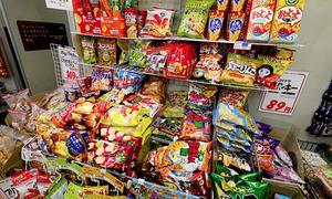 Nhật Bản 'khủng hoảng thiếu' bim bim