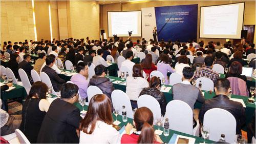 Hơn 250 nhà môi giới tham gia Expert Talk 1 với chủ điểm Môi giới bất động sản 2017: Thách thức và con đường nào đến thành công? dobatdongsan.com.vn tổ chức tại khách sạn Pullman, tháng 3/2017