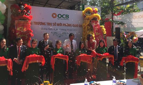 Từ đầu năm đến nay, OCB đưa vào hoạt động nhiều điểm bán lẻ tại 9 tỉnh, thành trong cả nước.