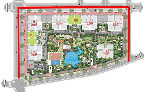 Saigon South Residences được thiết kế khoa học phù hợp với khí hậu miền Nam, giúp cư dân tận dụng tối đa nguồn năng lượng tự nhiên ngoài trời.