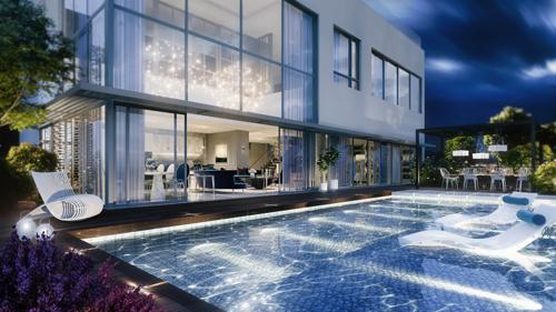 Pool Villa với hồ bơi riêng tư đẳng cấp.