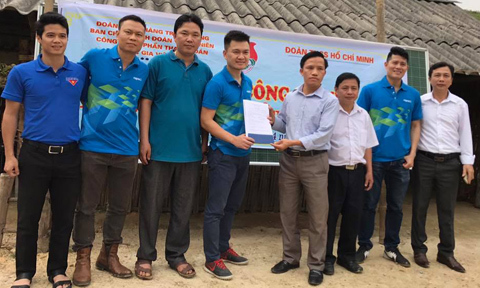 Napas xây mới 2 lớp học cho trẻ em miền núi Tuyên Quang