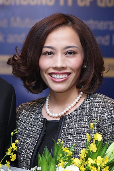 Bà Nguyễn Thái Thuận - CEO Công ty quản lý quỹ VinaWealth.