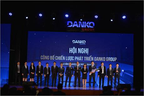Tại Hội nghị công bố chiến lược phát triển diễn ra ngày 25/4, Danko Group ra mắt đội ngũ cán sự cấp cao của tập đoàn