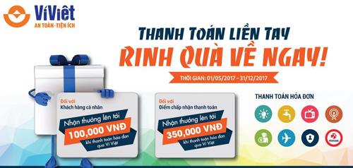 Tải Ví Việt, truy cập https://www.viviet.vn/install-app  Tổng đài CSKH (miễn phí & 24/7): 1800.6665