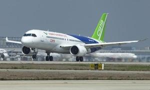Phi cơ 'made in China' hoàn thành bay thử nghiệm