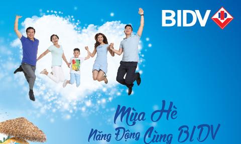 BIDV ưu đãi khách hàng dịp hè