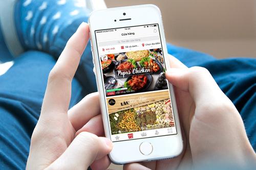 Ứng dụng đã liên kết với chuỗi nhà hàng PapasChicken và hơn 60 nhà hàng khác trên địa bàn TP HCM