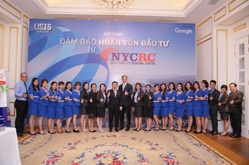 Tại Việt Nam, NYCRC hợp tác độc quyền với USIS Group trong việc triển khai các dự án thuộc chương trình đầu tư định cư EB-5