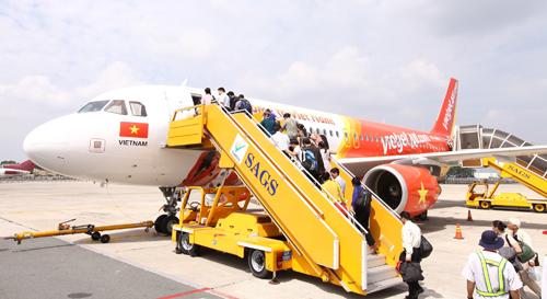 Trong 5 tháng, Vietjet đã thực hiện gần 39.100 chuyến bay, lượng khách vận chuyển đạt trên 6,5 triệu lượt.