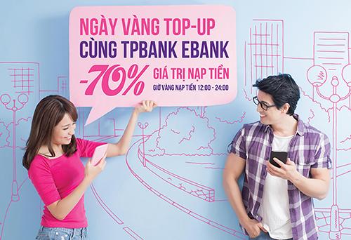 Thông tin chi tiết về chương trình khuyến mại, Quý khách vui lòng truy cập website: https://tpb.vn/ hoặc gọi đến Trung tâm dịch vụ khách hàng (24/7):1800 585885 (miễn phí).