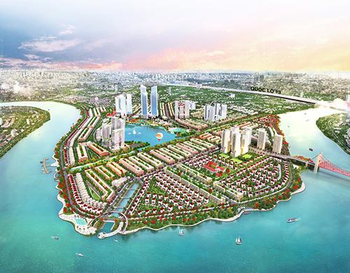 Khu đô thị Vạn Phúc dự kiến hoàn thành năm 2019 và đón 45,000 cư dân về sinh sống.