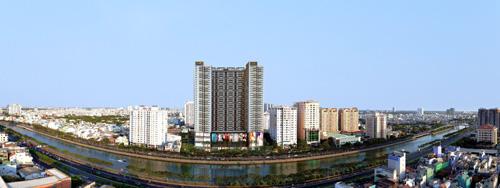 TNR The GoldView có vị trí đắc địa trên cung đường bất động sản cao cấp bến Vân Đồn.
