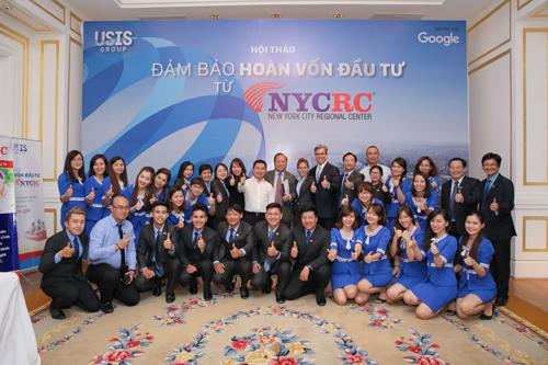 Tại Việt Nam, NYCRC hợp tác với USIS Group trong việc triển khai các dự án thuộc chương trình đầu tư định cư EB-5.