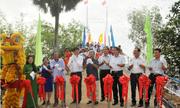 Thương hiệu Osla khánh thành cầu dân sinh tại Kiên Giang