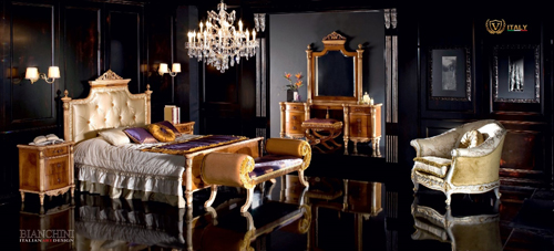 Bộ sưu tập Venezia do hãng nội thất nổi tiếng Bianchini có lịch sử 50 năm tại Italy sản xuất, được thiết kế bởi Giovanni Massagrande  bậc thầy trong việc xử lý chất liệu thô.