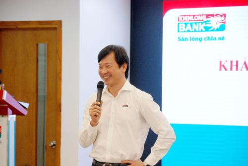 Ông Mai Hữu Tín - Phó chủ tịch Hội đồng quản trị Kienlongbank.