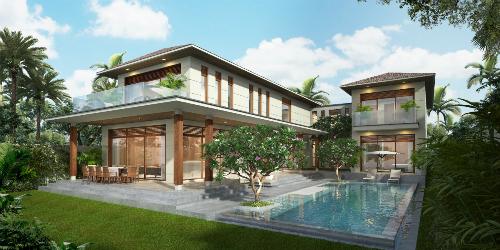 Biệt thự hiện đại tại dự án The Ocean Estates.