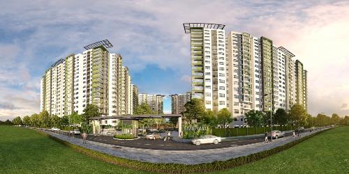 Emerald Precinct thuộc khu đô thị Celadon City,tọa lạc ở trung tâmquận Tân Phú