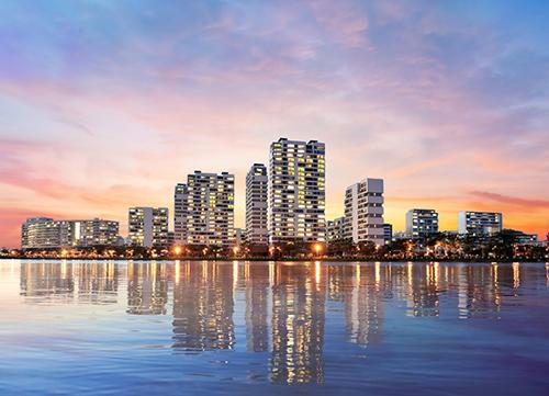 Tỷ suất khai thác kinh doanh cho các cửa hàng ở phố đi bộ Tôn Dật Tiên nói chung và The Panorama nói riêng sẽ tiếp tục gia tăng.