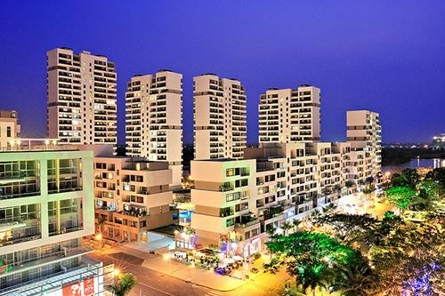 cửa hàng The Panorama nằm tại phố đi bộ Tôn Dật Tiên