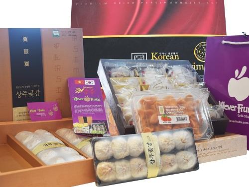 Các sản phẩm Hồng Sangju đang được bán tại hệ thống Klever Fruits