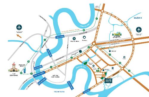 Dự án kết nối dễ dàng đến Q.1 trong 7 phút. Thông tin chi tiết: www.thuthiemdragon.com.vn.