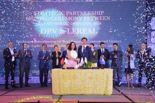 Công ty Orient & Pacific Việt Nam (OPV) và Công ty Lereal vừa ký kết hợp tác