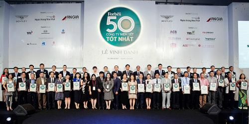 Đất Xanh nằm trong vào Top 2 công ty bất động sản niêm yết tốt nhất Việt Nam.